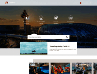 changiairport.com screenshot