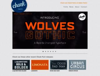 chank.com screenshot