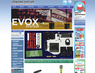 channel.com.ph screenshot