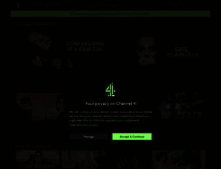channel4.com screenshot