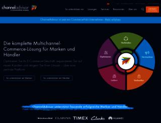 channeladvisor.de screenshot