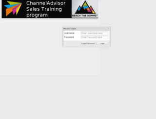 channeladvisor.netexam.com screenshot