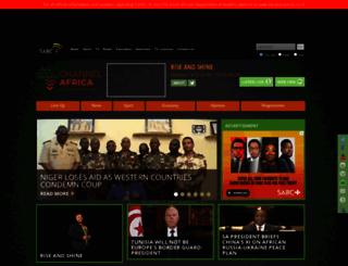 channelafrica.co.za screenshot