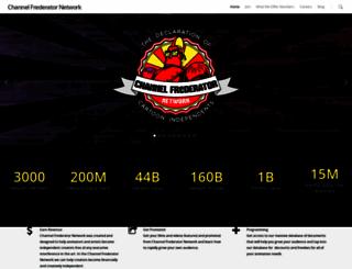 channelfrederatornetwork.com screenshot
