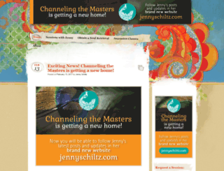 channelingthemasters.wordpress.com screenshot