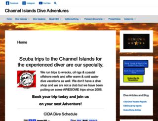 channelislandsdiveadventures.com screenshot