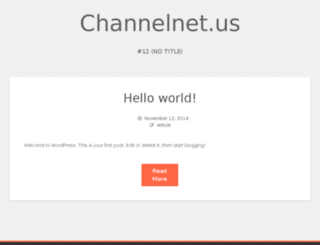 channelnet.us screenshot