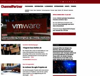 channelpartner.de screenshot