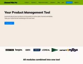 channelpilot.com screenshot
