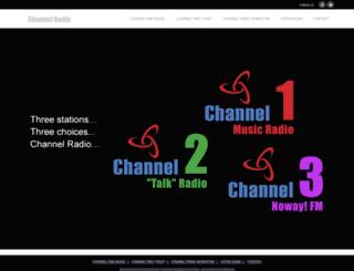 channelradio.co.uk screenshot