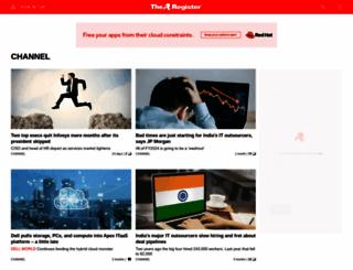 channelregister.co.uk screenshot