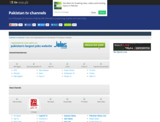 channels.tv.com.pk screenshot