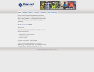 channelsolutions.org screenshot