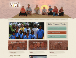 channelyouth.in screenshot
