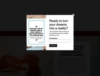 chantalmcculligh.com screenshot