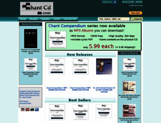 chantcd.com screenshot