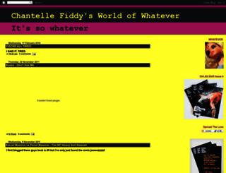 chantellefiddy.blogspot.com screenshot