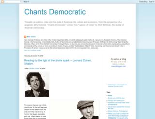 chantsdemocratic.com screenshot