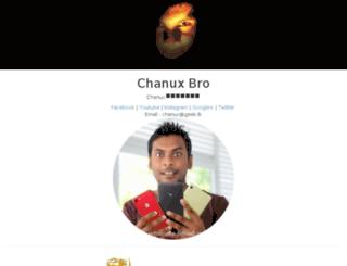 chanuxbro.lk screenshot