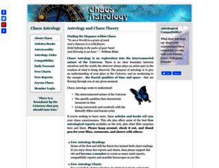 chaosastrology.com screenshot