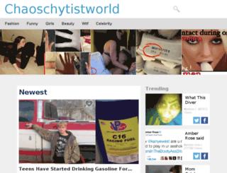 chaoschytistworld.com screenshot