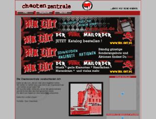 chaotenzentrale.de screenshot