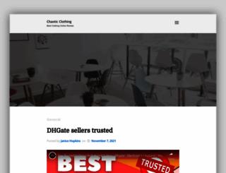 chaoticclothing.co.uk screenshot