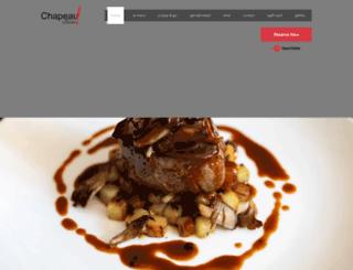 chapeausf.com screenshot