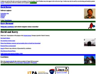 chapelhill.homeip.net screenshot