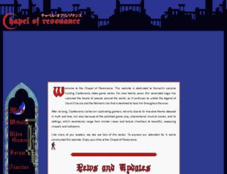 chapelofresonance.com screenshot