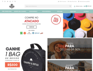 chapeueestilo.com.br screenshot