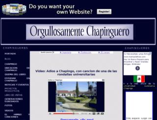 chapinguero.es.tl screenshot