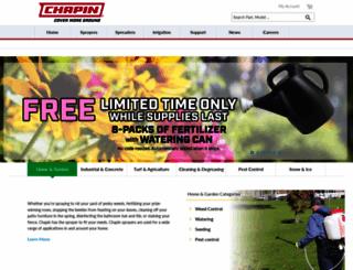 chapinmfg.com screenshot