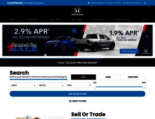 chapmanhonda.com screenshot