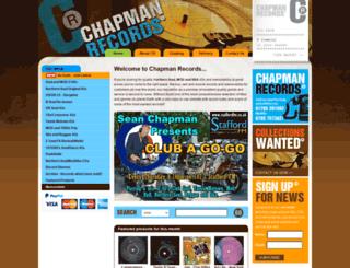 chapmanrecords.co.uk screenshot