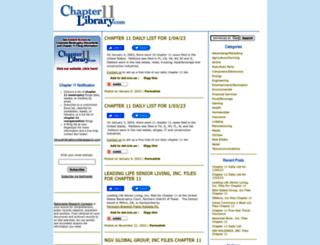 chapter11blog.com screenshot