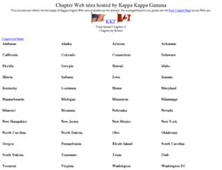 chapters.kappakappagamma.org screenshot