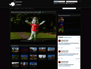 charactercentral.net screenshot