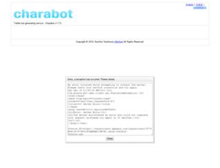 charactorbot.appspot.com screenshot