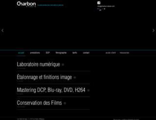 charbon-studio.com screenshot