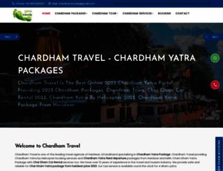 chardhamtravel.com screenshot