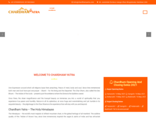 chardhamyatra.com screenshot