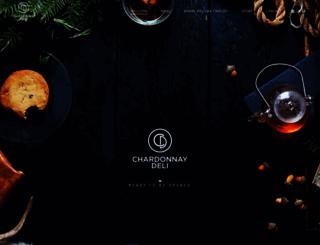 chardonnaydeli.co.za screenshot
