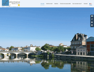 charente-immobilier-lafontaine.com screenshot
