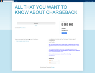 chargeback4u.blogspot.com screenshot