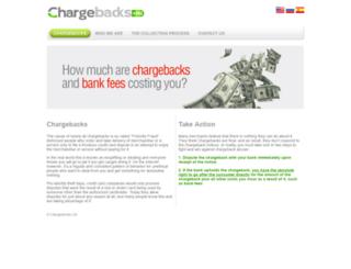 chargebacks.eu screenshot