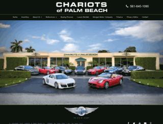 chariotsofpb.com screenshot