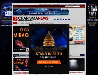 charismanews.com screenshot
