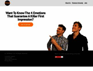 charismaoncommand.com screenshot