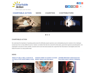 charitableaction.com screenshot